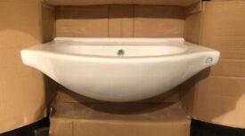 Classic Bathroom Sink. Brand New.Unused. Still in Box.