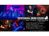 Drum lessons - 23 years experience - touring/studio ALL LEVELS/AGES WELCOME