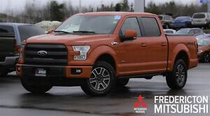 2015 Ford F-150 LARIAT! CREW! LEATHER! NAV! SUNROOF!