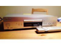 PIONEER DV 668 AV UNIVERSAL DISC PLAYER CD DVD-AUDIO SACD MP3 NOW SOLD VIA EBAY