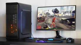 Cheap Fast Gaming PC Desktop Gamer Computer Pay Monthly