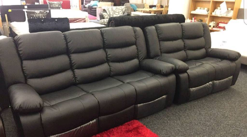 Incredible Roma Recliner Bonded Leather Sofas With Cupholders Boxed Sealed In Edinburgh City Centre Edinburgh Gumtree Andrewgaddart Wooden Chair Designs For Living Room Andrewgaddartcom