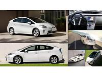 PCO CARS TOYOTA PRIUS UBER READY FROM £110 2009-2015 A WEEK.