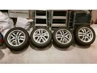 """BMW winter tyres on BMW 16"""" alloys"""