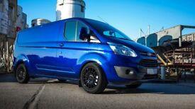 Brand new Calibre T-sport 18x7.5J or 20x8J Load rated van alloys! transit custom transporter