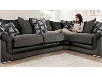Beautiful sonia buscar brand new corner sofa**Free delivery**