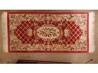 Persian rug / carpet - good condition very thick good quality