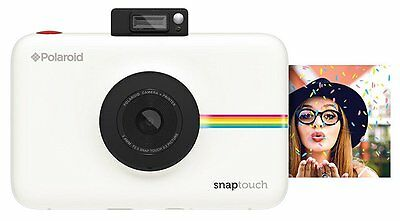 *NEW* Polaroid Snap Touch Instant Print Digital Camera With LCD Display - White