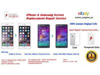 iPhone & Samsung LCD Screen Repair Replacement Service