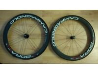 campagnolo bora one 50mm Carbon Tubular Bike Wheels and wheels