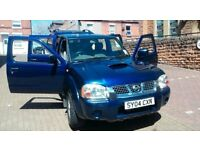 CHEAP NISSAN NAVARA DOUBLE CAB 4X4 PICKUP TRUCK 2.5D