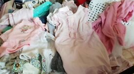 Baby girls clothing from birth