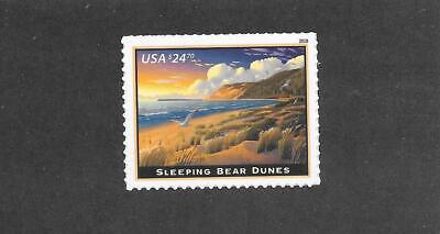 US 5258 Express Mail Sleeping Bear Dunes $24.70 single (1 stamp) MNH 2018 CV $54