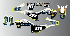 HUSQVARNA TC TE FC TC 2016 MODELS MOTOCROSS FULL GRAPHICS KIT-STICKER KIT-DECALS