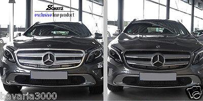 Mercedes Benz GLA ab 2012, Chrom Frontgrill Rahmen_