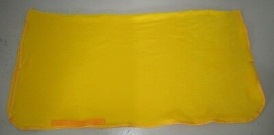 Horse Exercise or Quarter sheet FREE EMBROIDERY Choose size & Binding YELLOW (Yellow Quarter Horse)