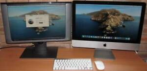 Apple iMac Slim Aluminium with Catalina & DUAL LCDs!