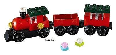 Lego 30543 Holiday & Event Christmas Train Noël complet de 2018 -C266