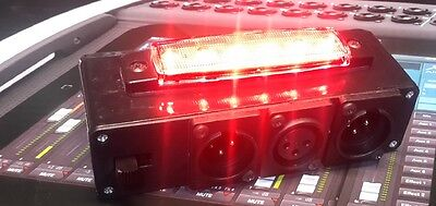 A Intercom Signal Call LED Light Splitter PA Clear Star Controller Com Lighting