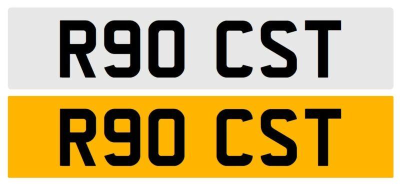 R90+CST+-+Private+Cherished+Number+Plate+-+Defender+90+Car+Registration