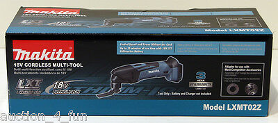 Makita LXMT02Z 18V Volt Li-Ion Cordless LXT Multi-Tool Oscillating Multimaster on Rummage