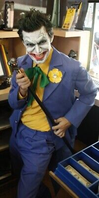 Batman Tas Costume (Tailored Joker Batman The Animated Series Halloween Cosplay Costume- NO)