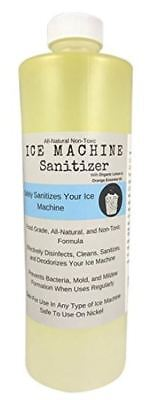 Ice Machine Sanitizer 16 Oz Nickel-safe Non-toxic Ice Machine Cleaner