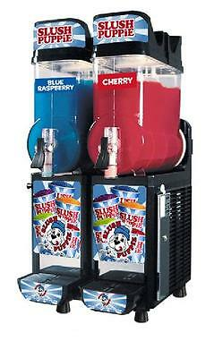 CAB Faby Two Bowl Slush Puppie Machine Smoothie Margarita 60 Day Warranty