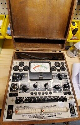 Precision Apparatus Co. Series 920 Electronamic Tube And Set Tester -vintage