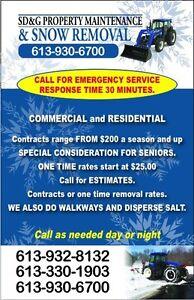 Snow removal  Cornwall Ontario image 1