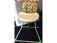 Mint condition high chair