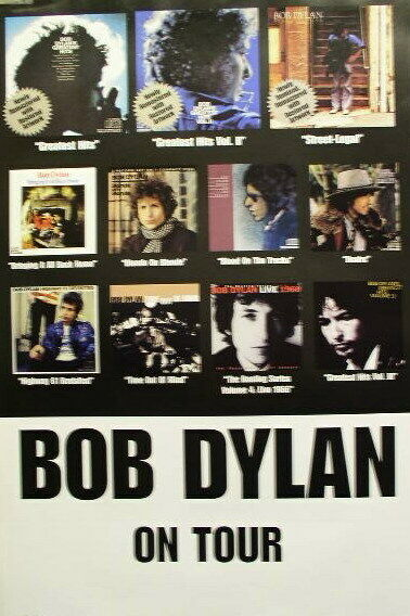 BOB DYLAN 1999 collection/on tour BIG 2 side promo poster Flawless New old stock