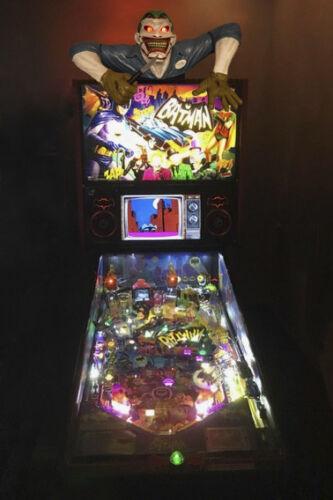 Batman Joker Pinball topper for Batman machines/walls/stands representative pict