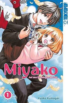 MIYAKO * Band 1 * ERSTAUFLAGE * Manga * TokyoPop * NEU + Bonus