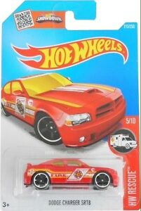 WANTED 2016 HOT WHEELS TREASURE HUNT DODGE CHARGER SRT8