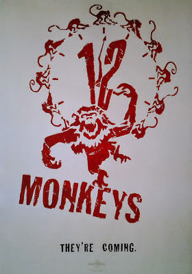 12 Monkeys: Teaser (1995) | US Import Filmplakat Poster