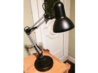 Metal Black Angle Lamp