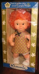 """KIMMIE Doll in Box by Regal Toy, Toronto        10""""  ca 1963"""