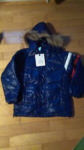 New Moncler Boys Winter Down Filled Winter Jacket Size 10