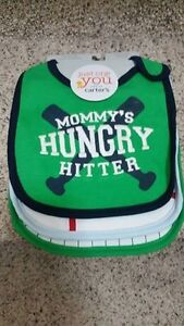 Brand New 3-Pack of Bibs from Carters - $6