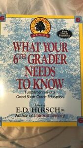 Homeschool material - What Your Grader Needs to Know Grade 3-6
