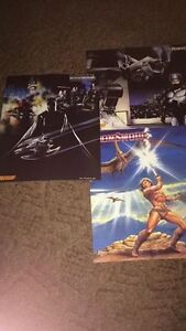 3x nintendo power nes promo? double sided posters