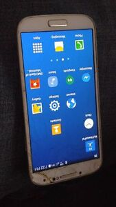 Galaxy S4 Cracked Screen (Still functional)