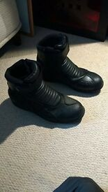 Spada Icon Waterproof Motorbike Boots Size 47 (11/12 UK)