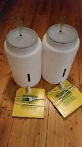 Home Brew Drums x2 with Heater Mats. Warracknabeal Yarriambiack Area Preview
