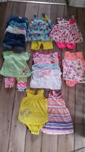 18-24 month girls summer clothing Lot