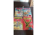 Classic The Hotspur books x 4 - Good Condition