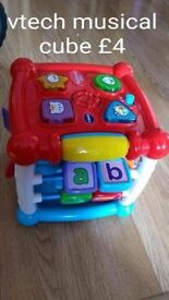 vtech learn and turn cube