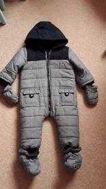 Baby snowsuit for sale