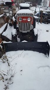 MTD Columbia Garden Tractor with hydraulic plow